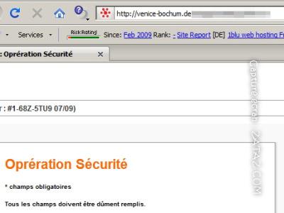 Phishing : Nouvelle tentative d´hameçonnage Orange dans Telecoms hamsonage
